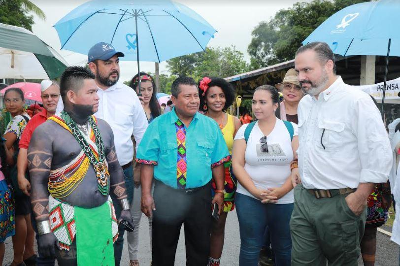 MICULTURA CELEBRA EL RÉCORD GUINNES   DE LA COMUNIDAD DE IPETÍ EMBERÁ