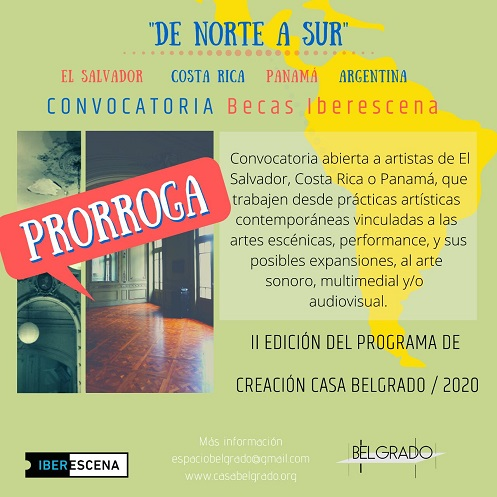 Becas Iberescena para artistas panameños en Buenos Aires Argentina