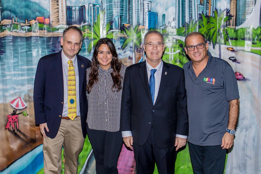 Inaugura paseo de las artes PTY en presencia del Alcalde José Luis Fabrega