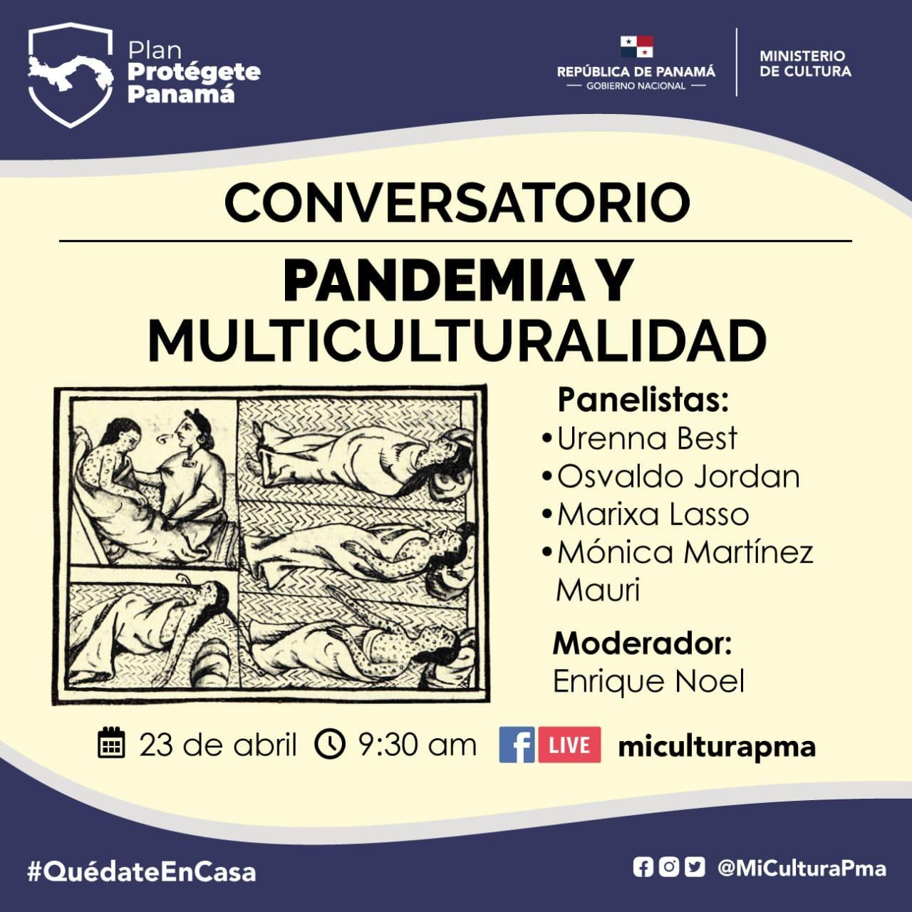 """MiCultura: """"Pandemia y Multiculturalidad"""""""