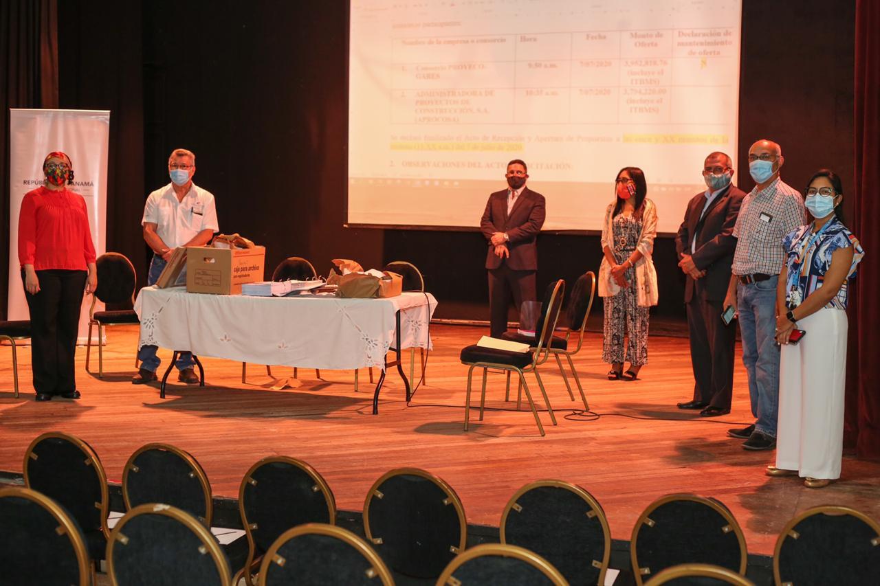 El Ministerio de Cultura abre acto de licitación para la Aduana de Portobelo