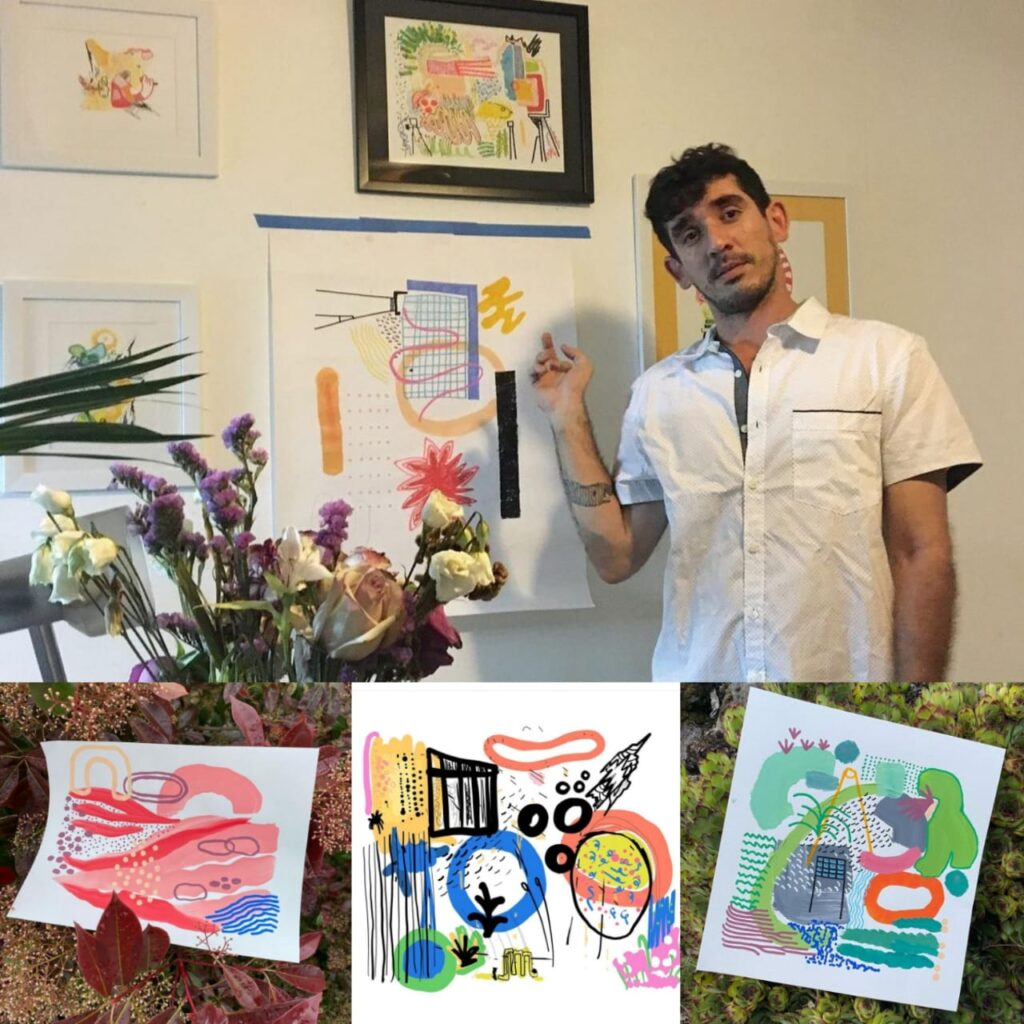 Conversando con Juan Tarté en la Planta Baja de Punto Bohemio