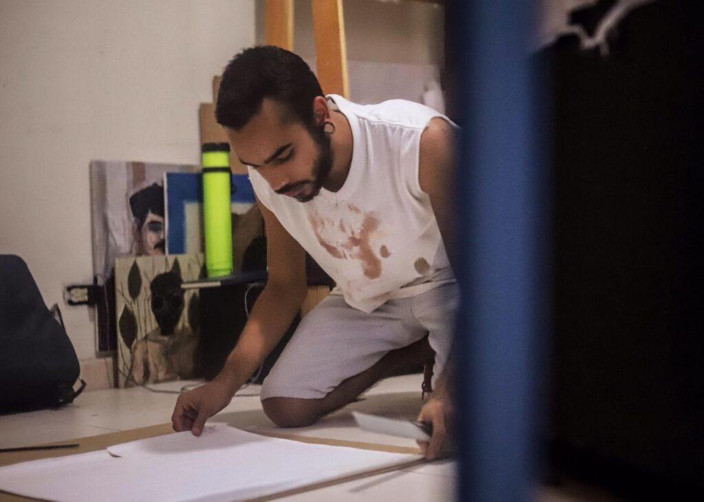Una tarde artística con Rubén Lozano
