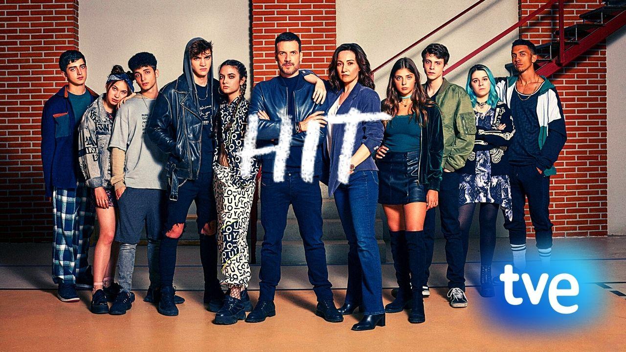 """""""HIT"""", la serie sobre adolescentes más esperada en Televisión."""
