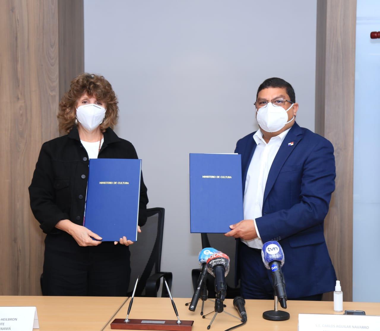 MiCultura e IFF Panamá firman convenio de cooperación cultural