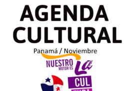 Agenda #ArteCultura Noviembre 2020