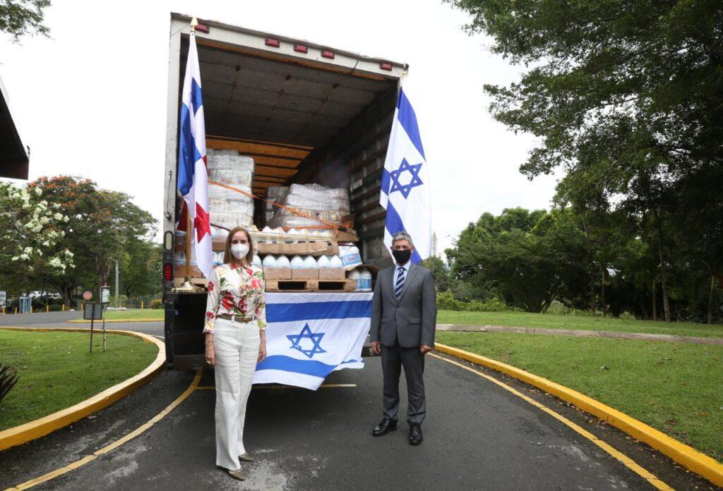 Israel brinda ayuda humanitaria a Panamá