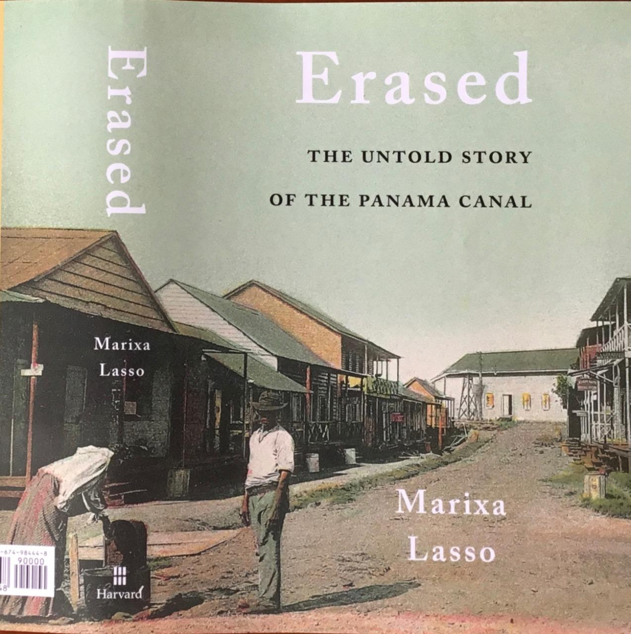 """Libro """"Erased"""" sobre el Canal de Panamá, gana Premio Friedrich Katz."""