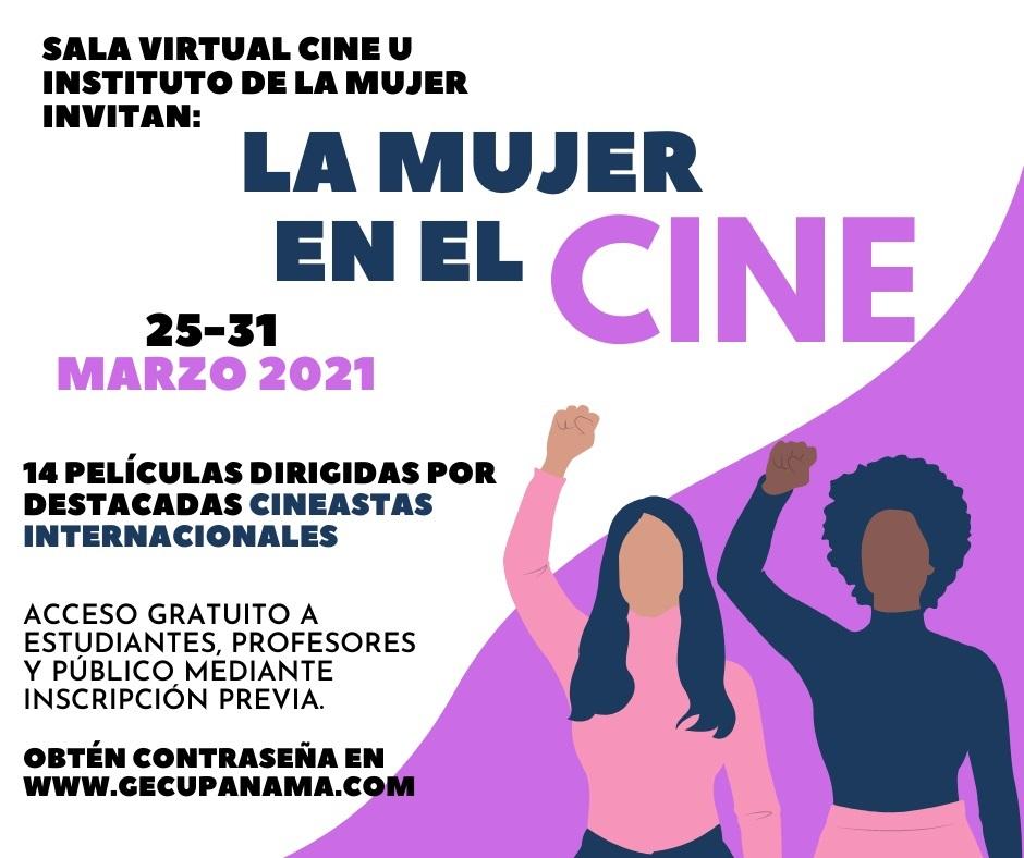 Sala virtual Cine U presenta ciclo de la mujer en el cine