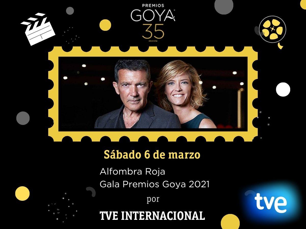 La fiesta del cine Español, Premios Goya 2021