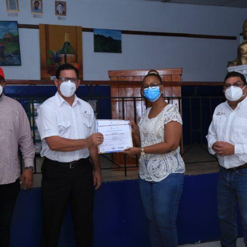 MiCultura realiza gira en Coclé y certifica a emprendedores
