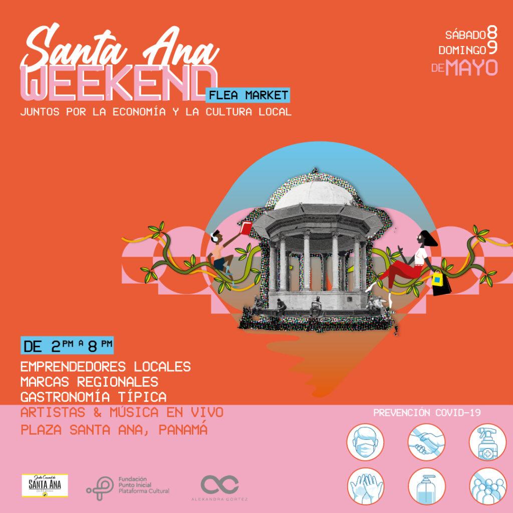 Santa Ana weekend, evento de arte y emprendimiento