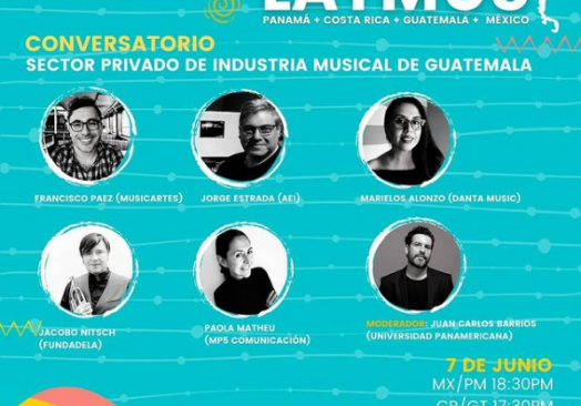 "Conversatorio ""Industria Musical de Guatemala"""