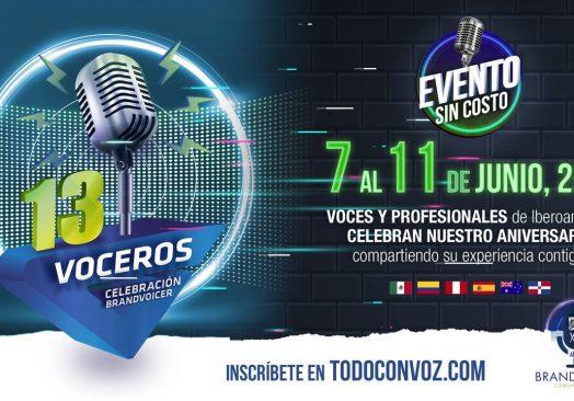 """Evento """"13 voceros"""""""