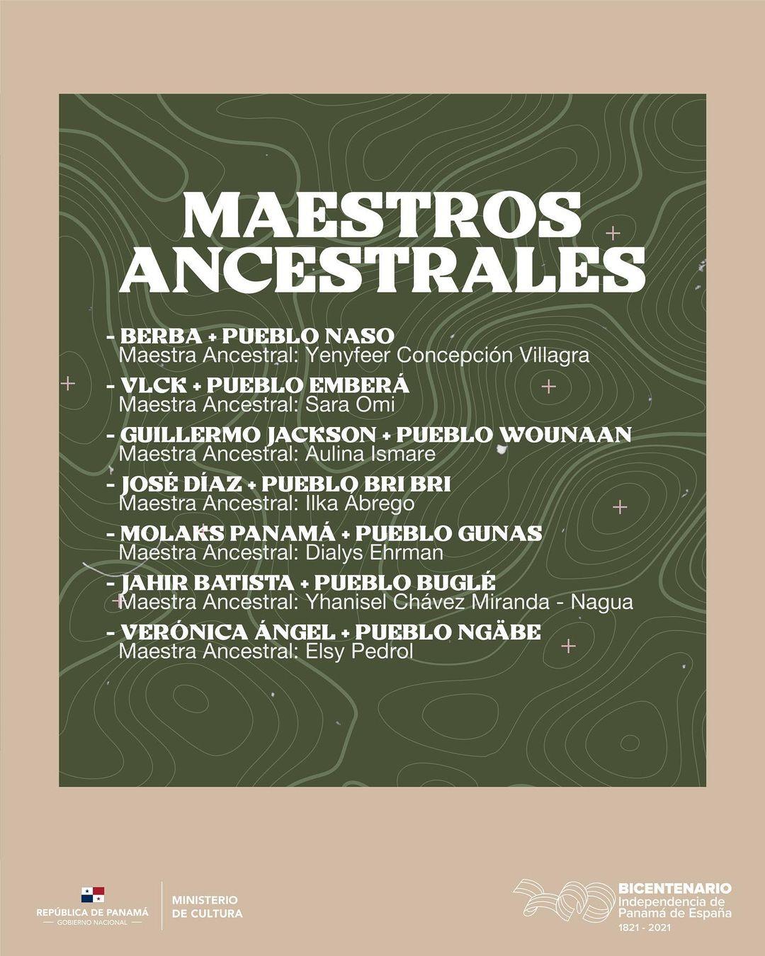 "Pasarela ""Maestros Ancestrales"""