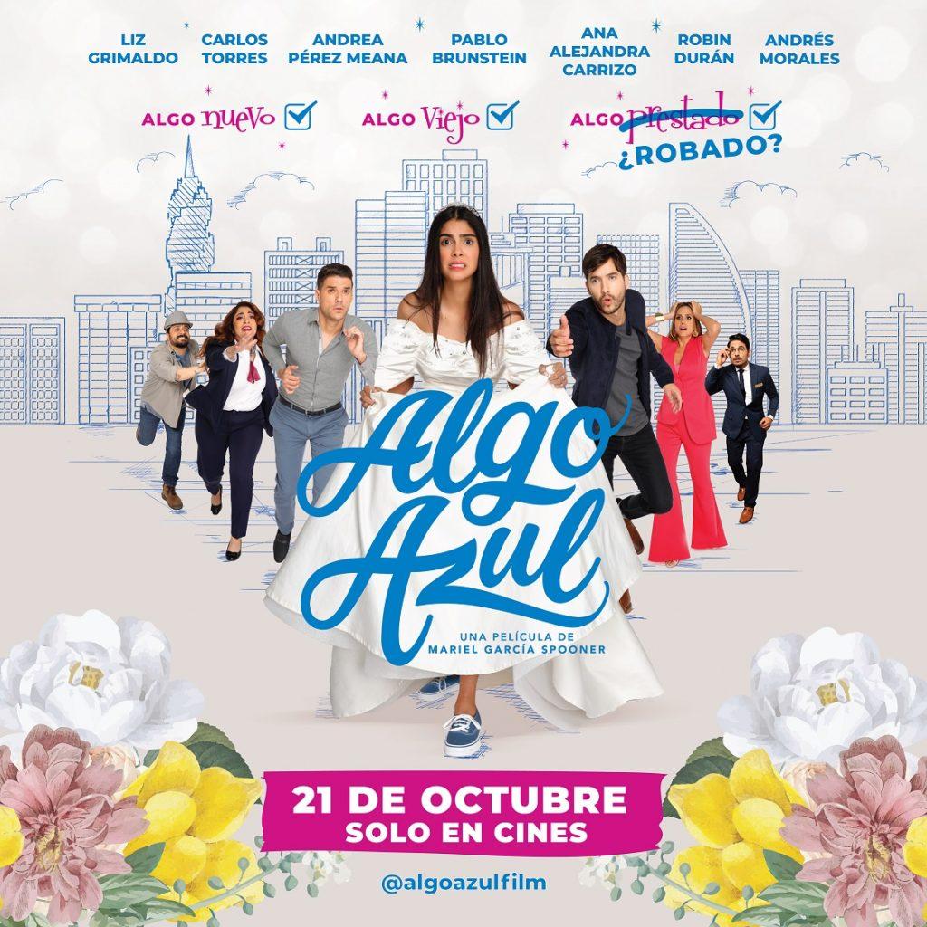 """Algo Azul"", próximo estreno nacional"